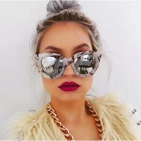 5a08c6c64b QUAY Australia SUGAR   SPICE marble sunglasses NEW
